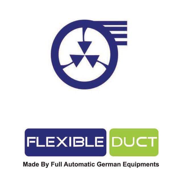 کانال خرطومی برزنتی با برند تجاریFlexible Duct