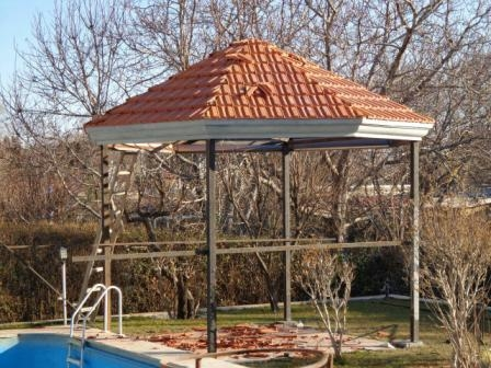 اجرای انواع سقف شیبدار مهسازه