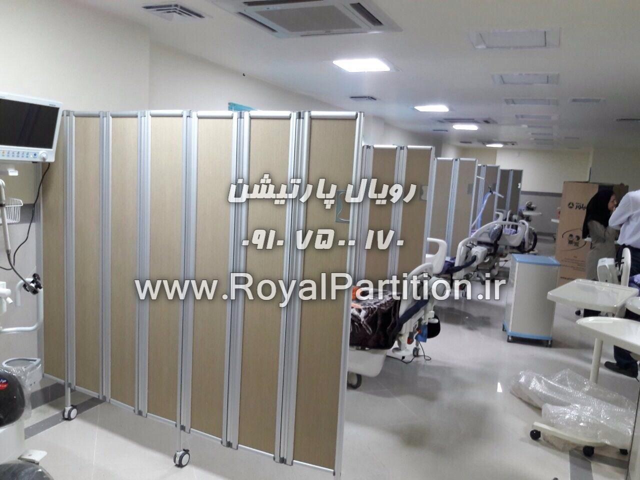 پارتیشن بیمارستانی، پاروان طبی، پاراوان پزشکی